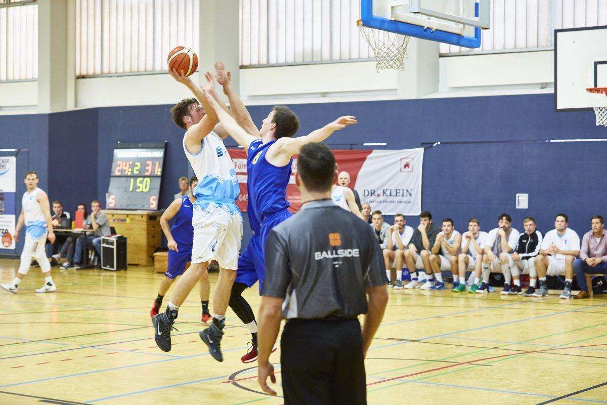 S.O.-Medien Baskets brechen gegen Braunschweig nach 25 Minuten ein