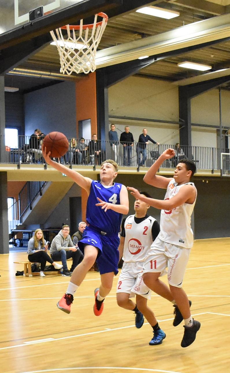 78:98 – U18 war beim Tabellenführer in Vechta chancenlos