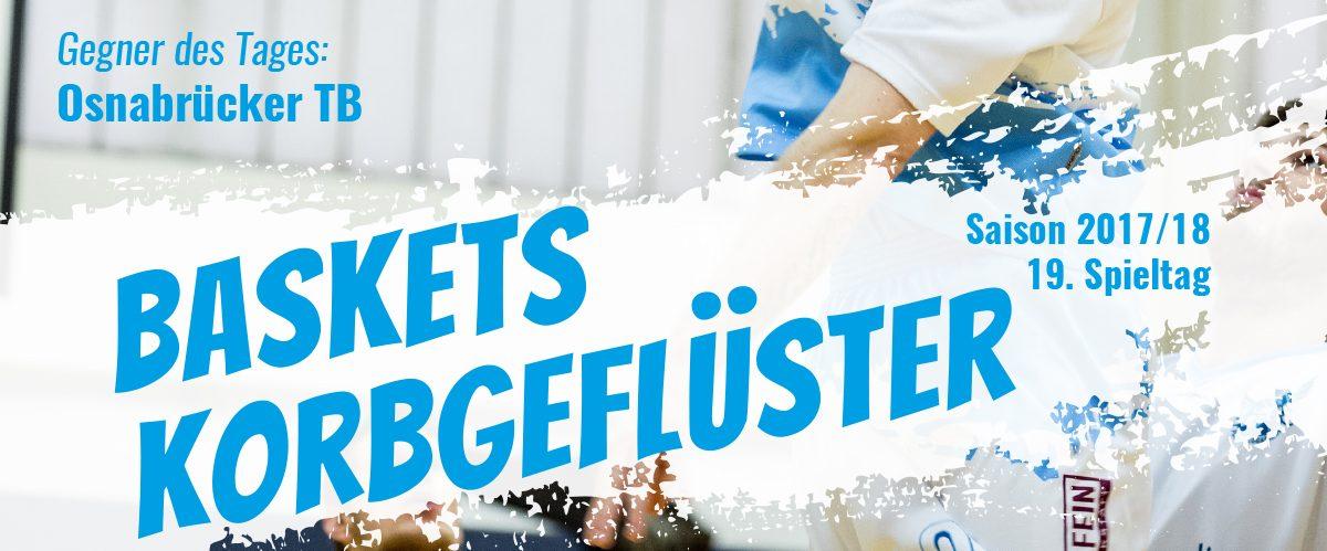 Das offizielle Spieltagsheft zum Spiel gegen den Osnabrücker TB