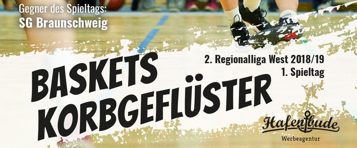 Das offizielle Spieltagsheft zum Spiel gegen SG Braunschweig