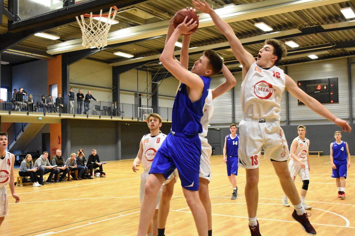 U18-Landesliga: Logabirumer Notbesetzung hielt in Vechta lange mit