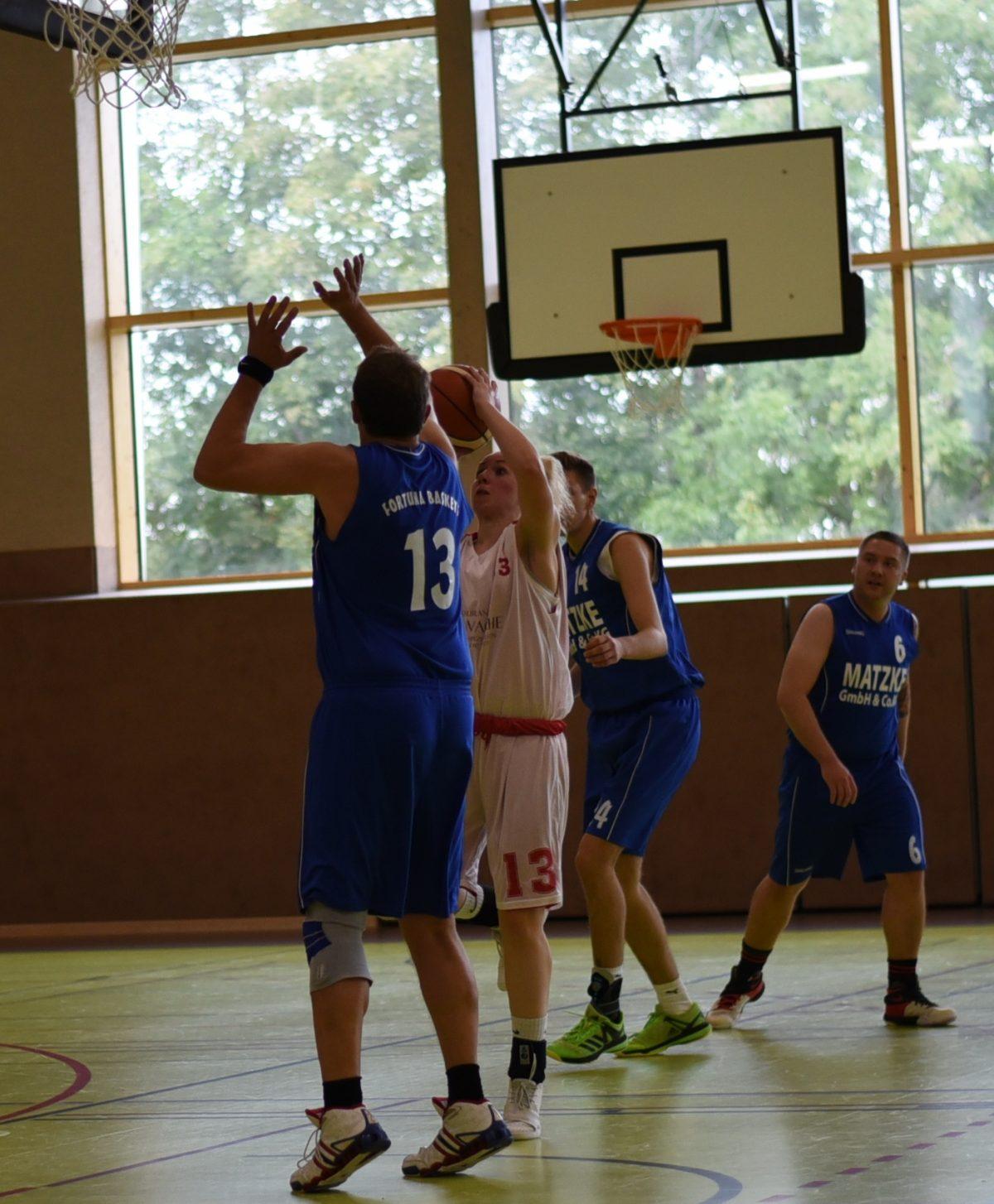 91:61 – Logabirum V besiegt direkten Konkurrenten um den Klassenerhalt