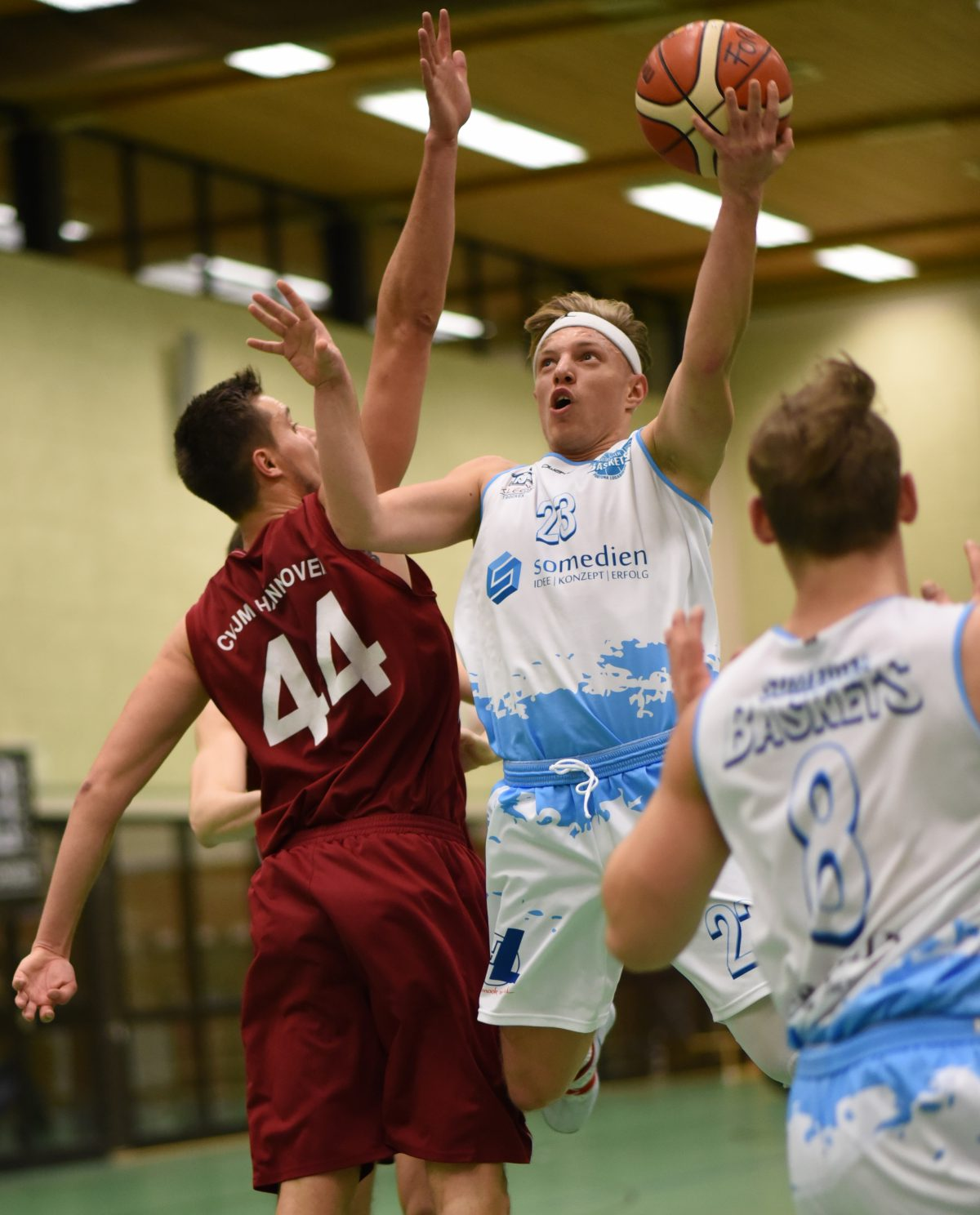 74:62 – S.O. Medien Baskets müssen auch im Heimspiel gegen CVJM Hannover Moral zeigen