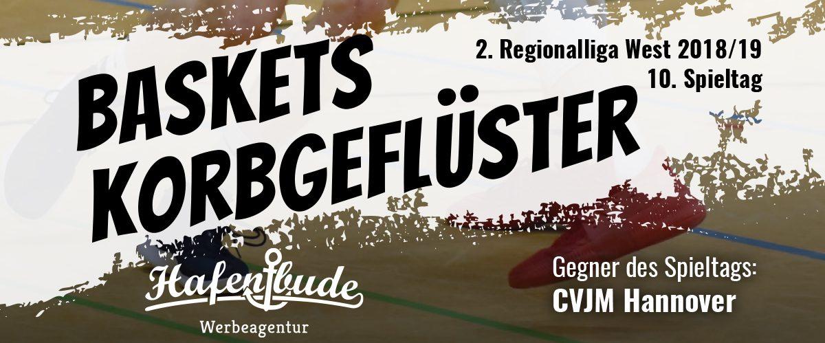 Das offizielle Spieltagsheft zum Spiel gegen den CVJM Hannover