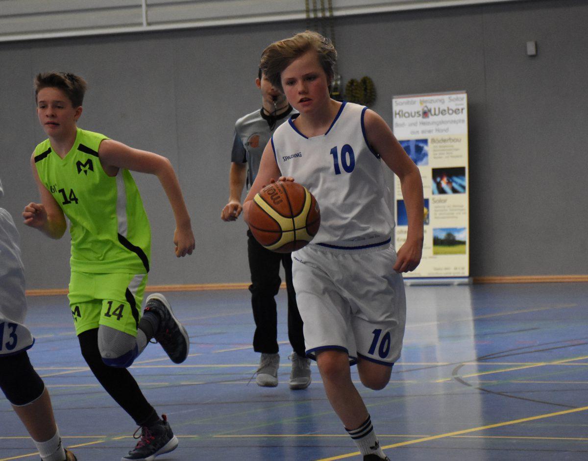 62:47 – U14 dominiert auch das Spitzenspiel in Bürgerfelde