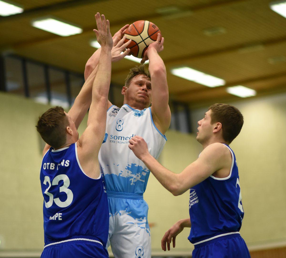 68:78 – S.O. Medien Baskets brechen gegen Osnabrücker TB nach starken drei Vierteln ein