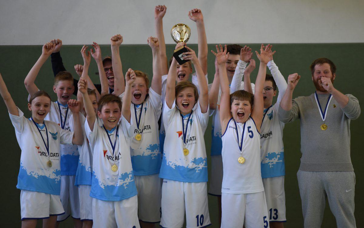 66:36 – U14 holt sich gegen Emden vorzeitig die Bezirksliga-Meisterschaft