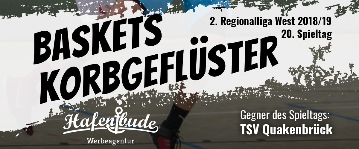 Das offizielle Spieltagsheft zum Spiel gegen den TSV Quakenbrück