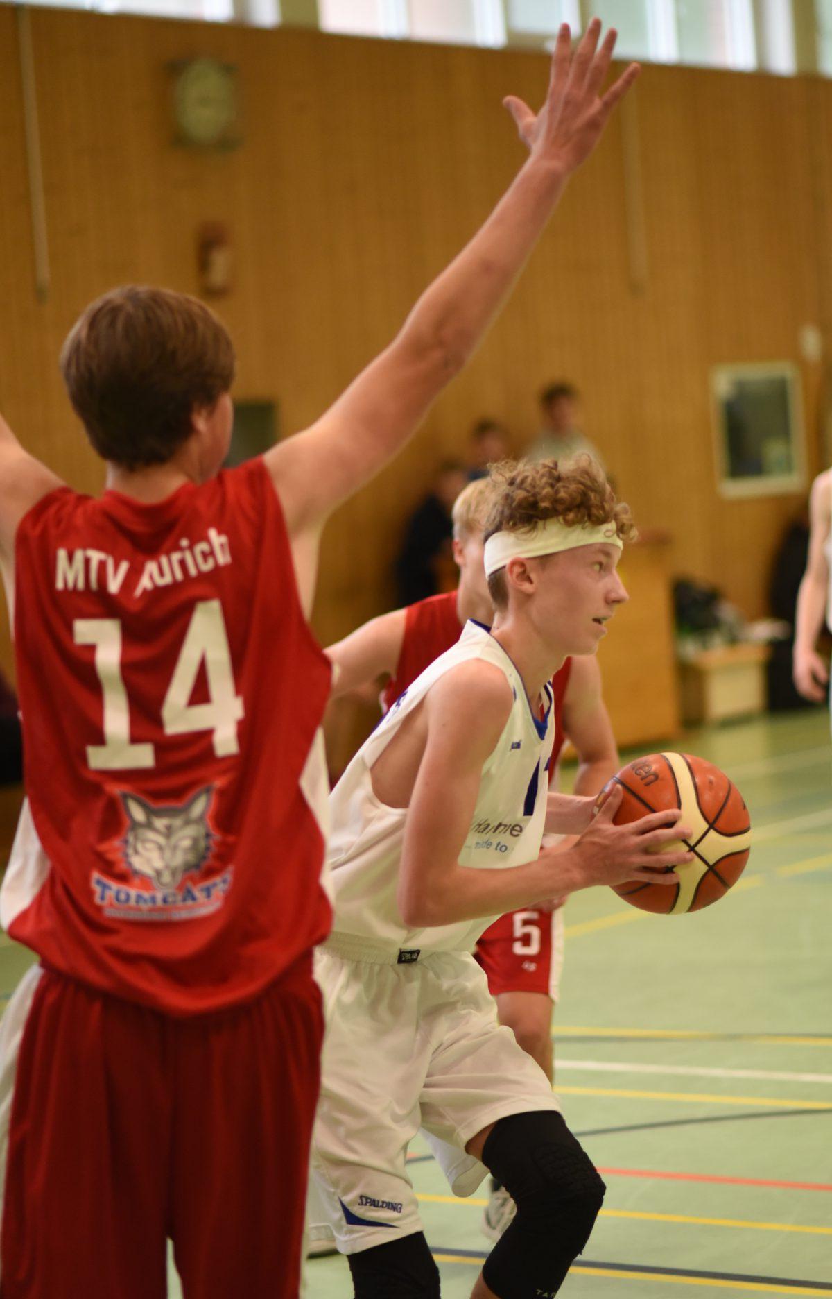 80:44 – U18 gewinnt auch zweites Spiel gegen MTV Aurich deutlich