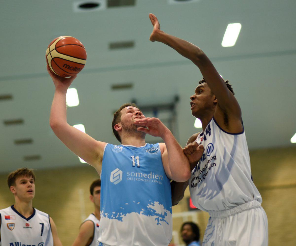 83:73 – Hafenbude Baskets nach Blitzstart schnell auf der Siegerspur