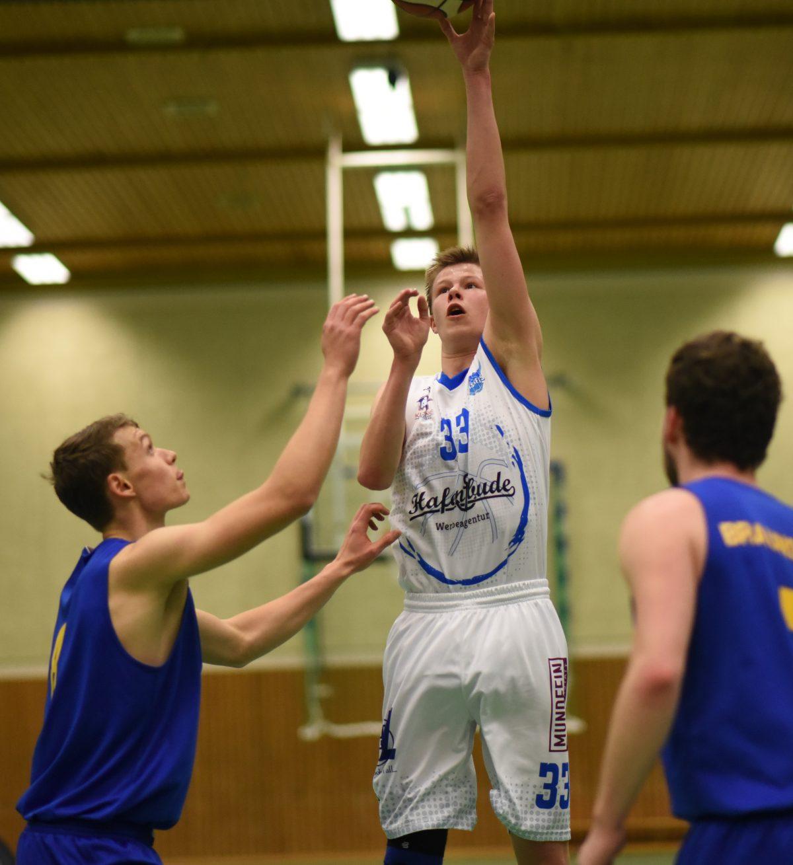 93:85 – Hafenbude Baskets kämpfen fünf Braunschweiger im Nachholspiel nieder