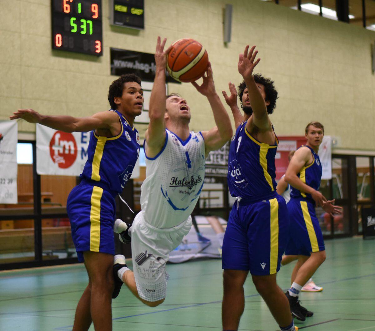 51:81 – Logabirumer Basketballer waren gegen Titelaspirant Braunschweig chancenlos