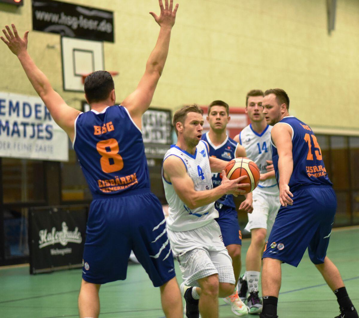 82:68 – Hafenbude Baskets siegen trotz erneutem Fehlstart auch gegen Bremerhaven