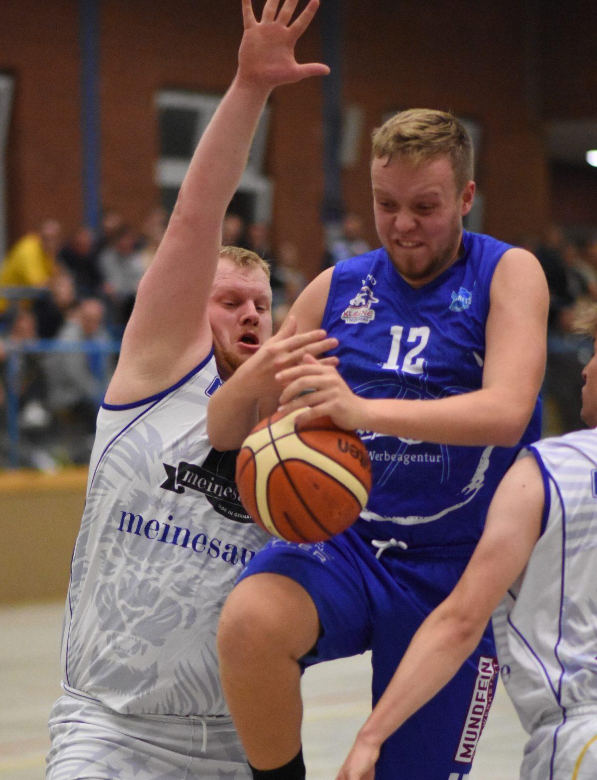 74:68 – Auch Amerikaner und Proficenter konnten Dr. Klein Baskets in Merzen nicht stoppen
